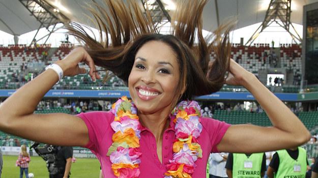 Omenaa Mensah przyznaje, że uwielbia sport /  /AKPA