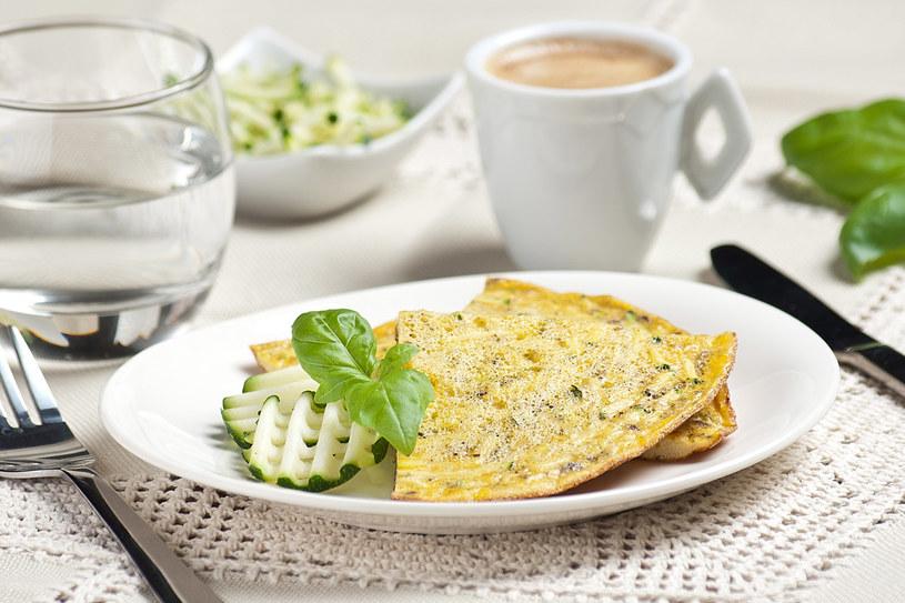 Omlet z cukinią /materiały prasowe