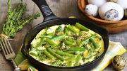 Omlet z fasolką szparagową