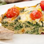 Omlet z piekarnika z warzywami