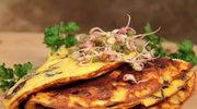 Omlet z ziemniakami i cebulą