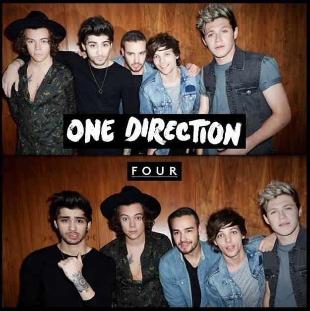 """One Direction na okładce płyty """"Four"""" /"""