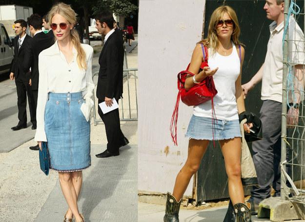 One też lubią dżins - Poppy Delevigne i Siena Miller /Getty Images