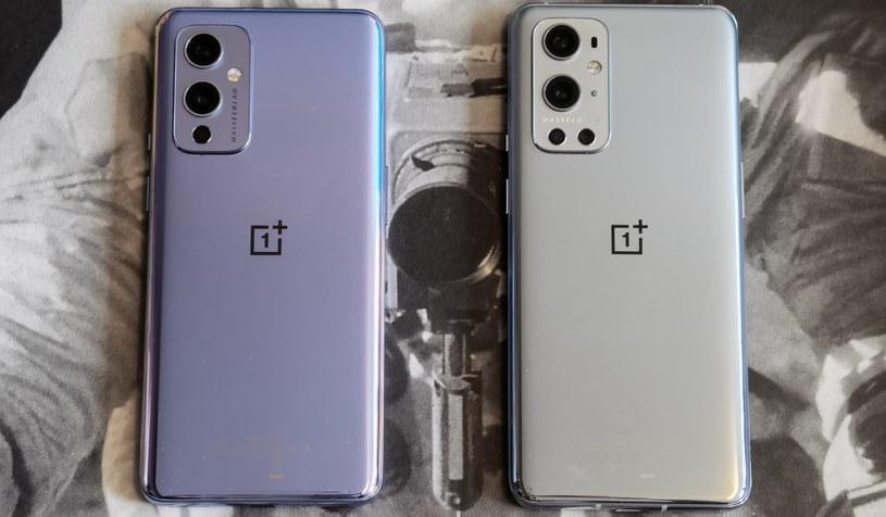 OnePlus 9 (z lewej) i OnePlus 9 Pro /INTERIA.PL