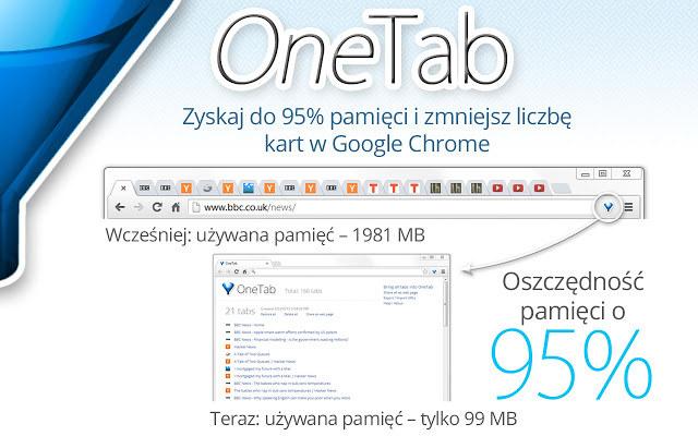 OneTab /materiały prasowe
