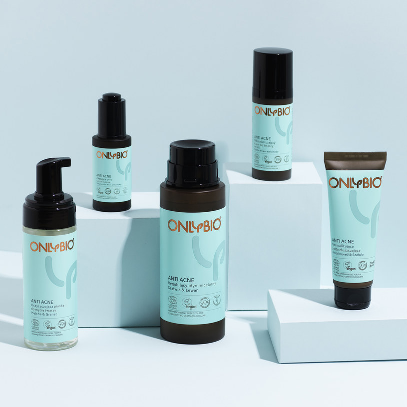 OnlyBio: Linia Anti Acne /materiały prasowe
