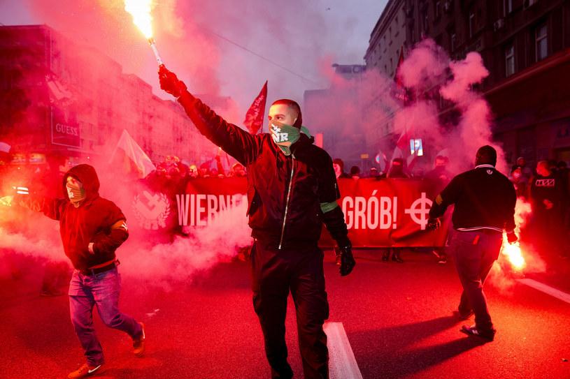 ONR to jedno z polskich ugrupowań, które trafiło na czarną listę Facebooka /Aleksandra Szmigiel/REPORTER /East News
