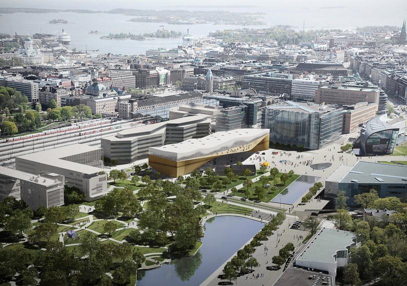 Oodi stanie w ścisłym centrum miasta /ALA Architects /