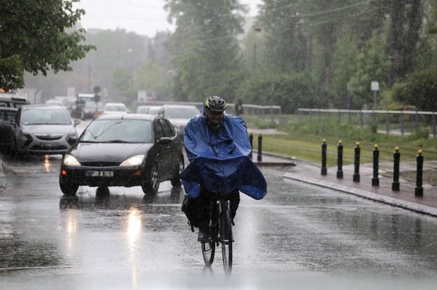 Opady deszczu w Polsce / Albert Zawada /PAP