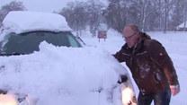 Opady śniegu paraliżują niemieckie miasto