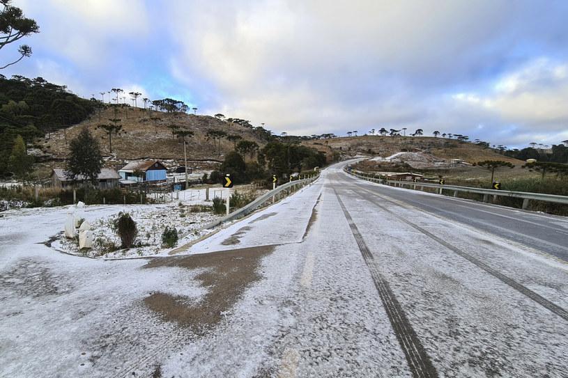 Opady śniegu w Brazylii /Associated Press /East News
