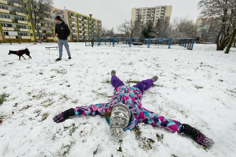 Opady śniegu wystąpią głównie w południowej części woj. mazowieckiego, na Lubelszczyźnie, Podkarpaciu i w Małopolsce /TOMASZ CZACHOROWSKI/POLSKA PRESS /East News
