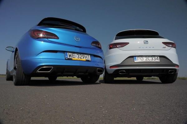 Opel Astra OPC, Seat Leon SC Cupra 280 DSG