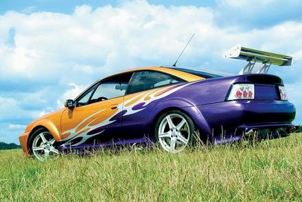 Opel Calibra - New Look /INTERIA.PL