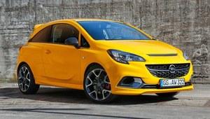Opel Corsa GSi wyceniona w Polsce