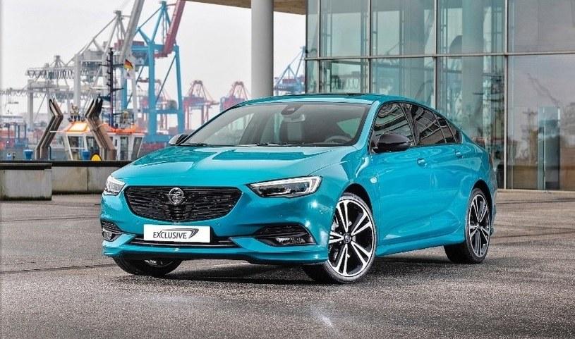 Opel Insignia Grand Sport w kolorze z gamy Opel Exclusive /