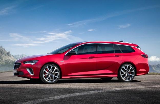 Opel Insignia GSi po modernizacji /