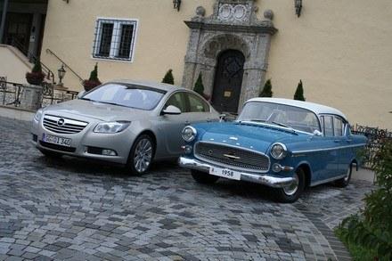 Opel insignia i opel kapitan /INTERIA.PL
