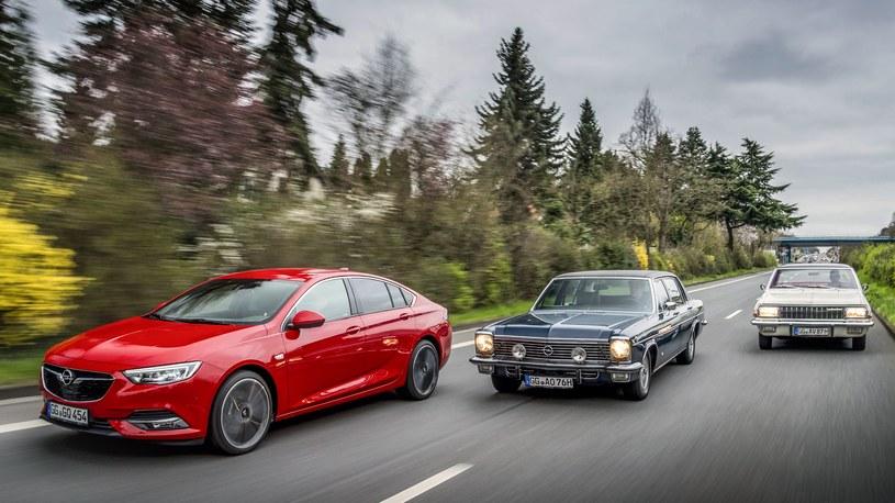 Opel Insignia, Opel Diplomat B V8 i Opel Admiral A V8 /