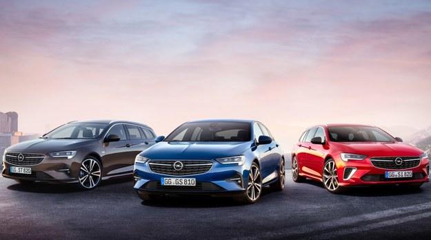 Opel Insignia po modernizacji /