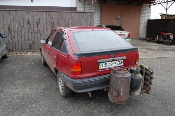 Opel kadett na holzgas - ekologiczny i ekonomiczny /archiwum prywatne