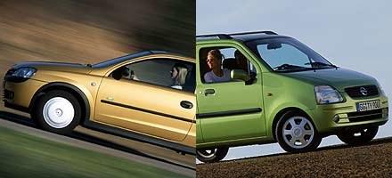 Opel kontra opel /INTERIA.PL