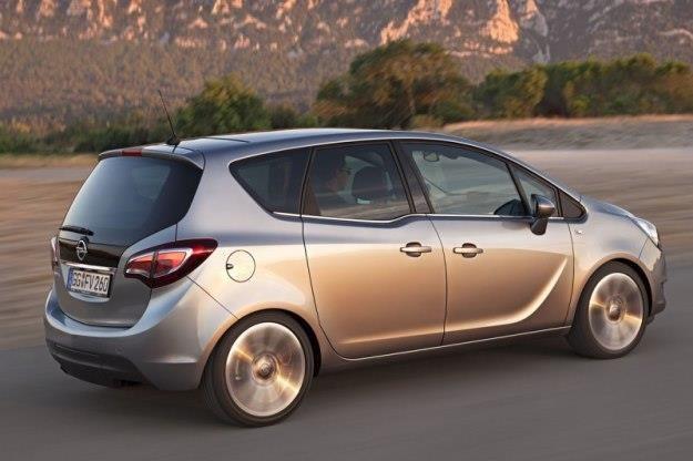 Opel Meriva po liftingu /