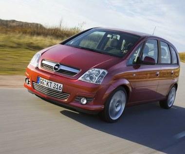 Opel meriva po niewielkim  liftingu