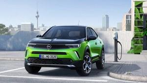 Opel Mokka-e - elektryczny i futurystyczny