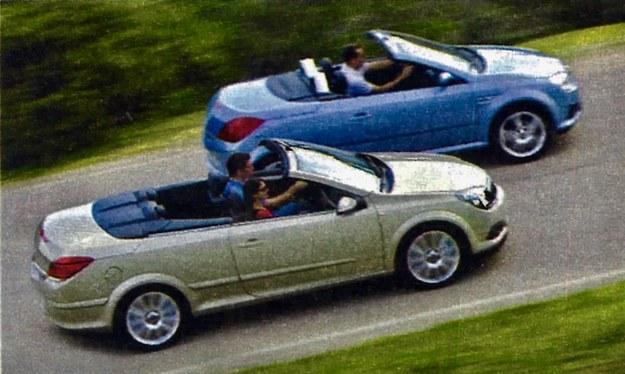 """Opel oferuje jeszcze dwa """"bezdachowe"""" auta: młodzieżową Tigrę i dorosłą Astrę TwinTop. Oba są funkcjonalniejsze od GT. /Motor"""