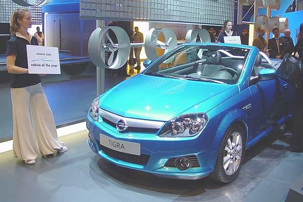Opel Tigra TwinTop (kliknij) /INTERIA.PL