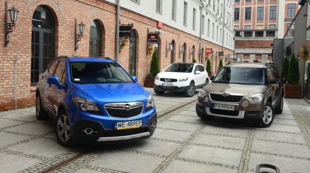 Opel to tegoroczny debiutant, Skoda na rynku pojawiła się 3 lata temu, a Nissan – w 2007 r. /Motor