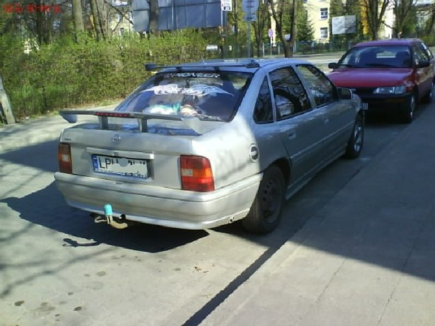 Opel vectra choinka