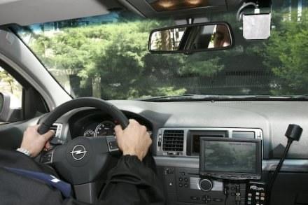 Opel vectra z wideorejestratorem /Policja