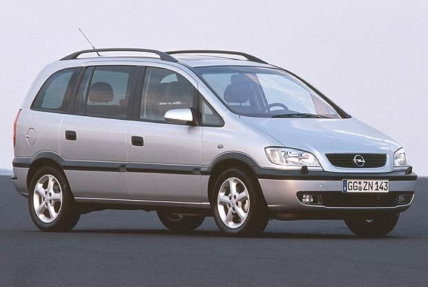 Opel Zafira podrożeje najbardziej - średnio o 1200 zł (kliknij) /INTERIA.PL