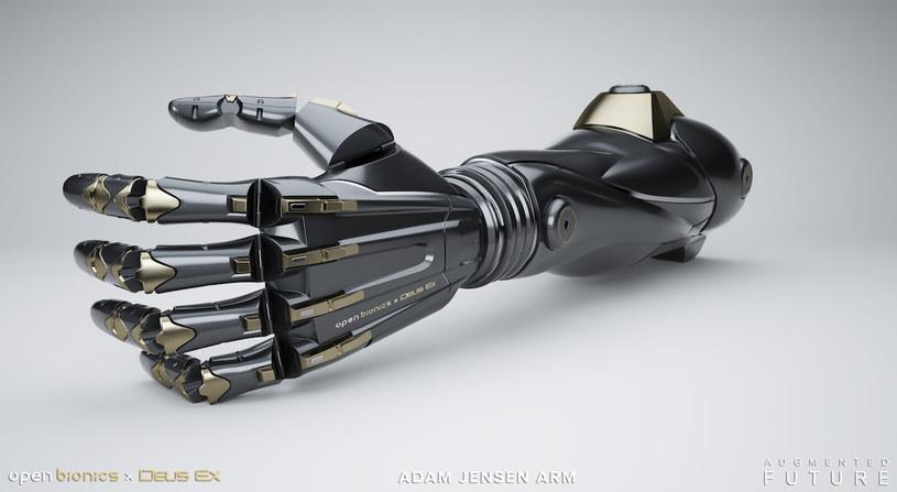 Ogromny Proteza ręki z gry do rzeczywistości - Nowe technologie w INTERIA.PL OS17