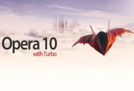 Opera 10 z opcją Turbo /materiały prasowe