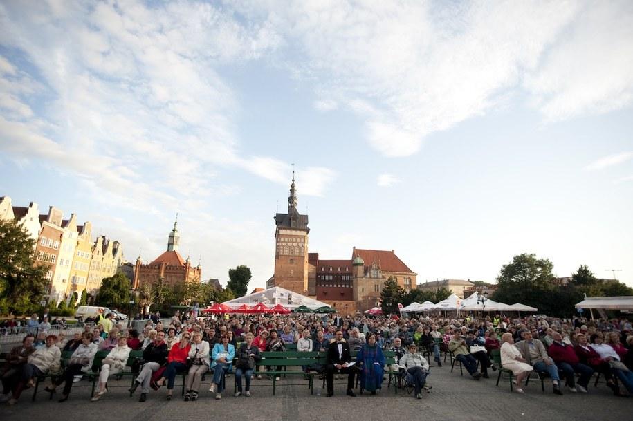 Opera na Targu Węglowym w Gdańsku /Katarzyna Sobiechowska Szuchta /RMF FM