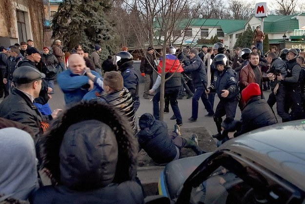 Operacja antyterrorystyczna w Charkowie. Aresztowano ok. 70 osób