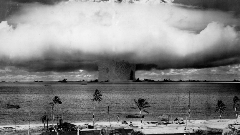 Operacja Crossroads BAKER, detonacja próbna w lipcu 1946 roku /East News