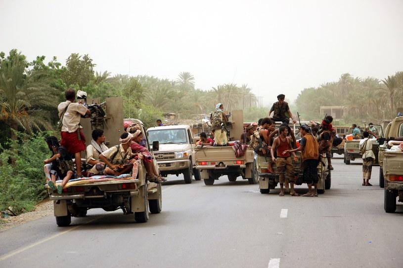 Operacja mająca na celu odbicie Hudajdy rozpoczęła się przed tygodniem /EPA/NAJEEB ALMAHBOOBI /PAP