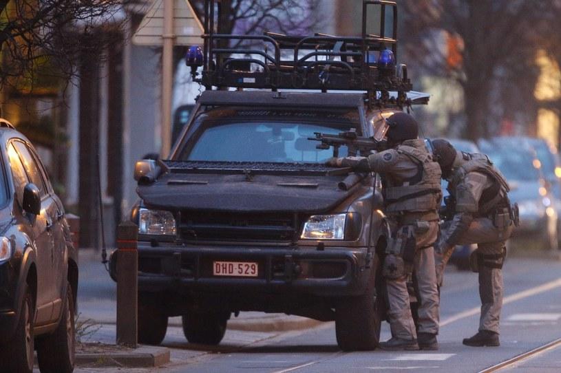 Operacja policji w stolicy Belgii /AURENT DUBRULE /PAP/EPA