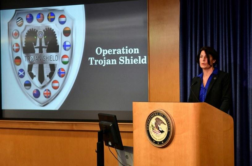 Operacja Trojan Shield /AFP