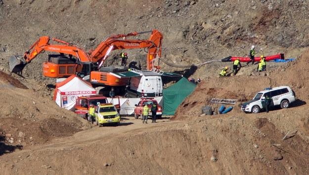 Operacja wydobycia Julena /Daniel Perez /PAP/EPA