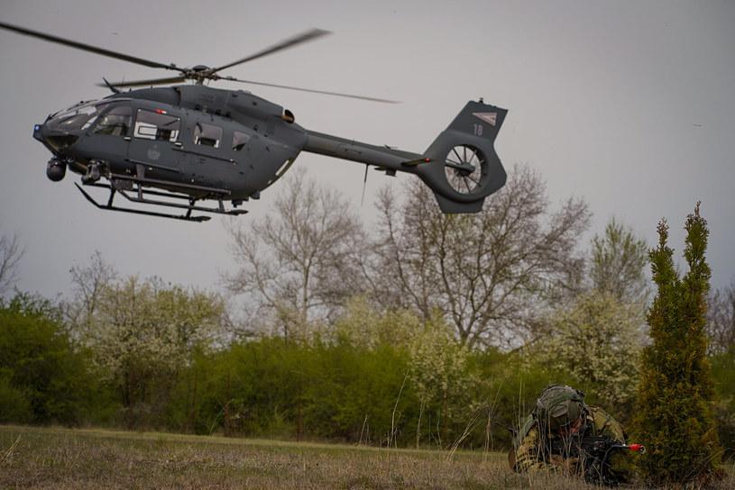 Operacje specjalne na rzece wspierały śmigłowce Airbus H145M. Niedługo dołączą do nich H225M Caracal /MON Węgier /domena publiczna