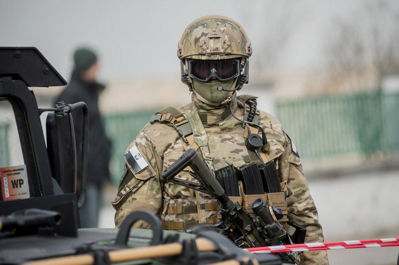 Operator Jednostki Wojskowej Komandosow w Lublińcu /Daniel Dmitriew /Agencja FORUM