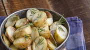 Opiekane ziemniaki w ziołach