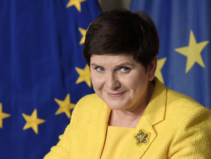 Opinie o polityce naszego kraju na forum UE są podzielone. Na zdjęciu premier Beata Szydło /TIZIANA FABI /AFP