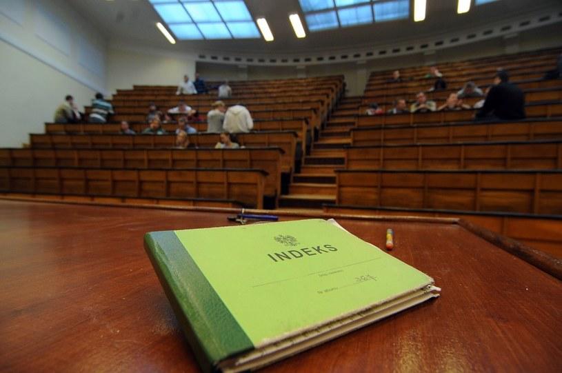 Opłata za drugi kierunek studiów jest zgodna z konstytucją /Lech Gawuc /Reporter