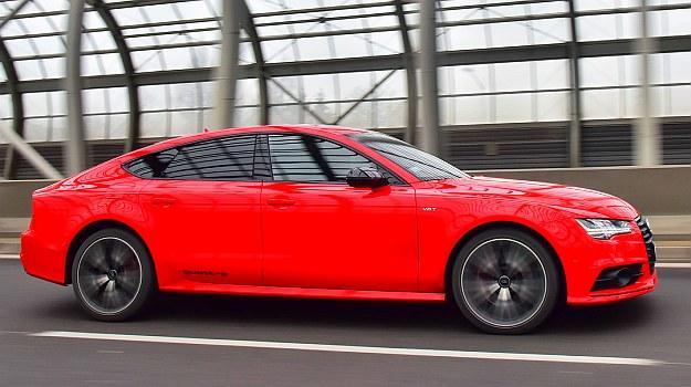 Opływowa sylwetka A7 (współczynnik oporu powietrza wynosi 0,28 – mniej niż w Porsche 911). /Motor